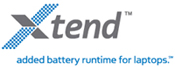 Xtend universal external laptop notebook battery batteries power pack