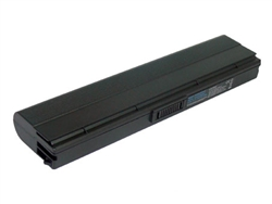 6 Cell Replacement Battery for Asus N20, N20A, N20H, U6, U6E, U6Ep, U6S, U6Sg, U6V, U6Vc This brand new ASUS replacement laptop battery features lithium-ion cells. Li-ion battery technology provides longer run times with less weight. In addition, Li-ion batteries are not subject to the memory effect common with older battery technology. This laptop battery replacement is 100% compatible with the original battery specifications and is individually tested and backed by a 2 Year warranty. Brand: Voltage: Battery Capacity: Battery Type: Cell Origin: Color: Assembly Origin: Warranty: Guarantee: Useful Life: ASUS replacement computer battery 11.1 Volts - also compatible with 10.8 Volt systems 4400 mAh 6 Cell Li-ion Samsung (South Korea) Dark Grey Assembled in China 2 Year Warranty 30 day full satisfaction guarantee 300-500 recharge cycles You can expect about 2 - 2.5 hours of run time with this computer battery when new, depending on your energy use. Like all Li-ion primary batteries, your