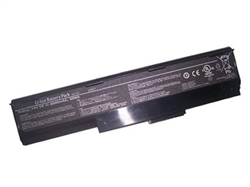 6 Cell Replacement Battery for Asus P30, P30A, P30Ag, P30G This brand new ASUS replacement laptop battery features lithium-ion cells. Li-ion battery technology provides longer run times with less weight. In addition, Li-ion batteries are not subject to the memory effect common with older battery technology. This laptop battery replacement is 100% compatible with the original battery specifications and is individually tested and backed by a 2 Year warranty. Brand: Voltage: Battery Capacity: Battery Type: Cell Origin: Color: Assembly Origin: Warranty: Guarantee: Useful Life: ASUS replacement computer battery 11.1 Volts - also compatible with 10.8 Volt systems 4800 mAh 6 Cell Li-ion Samsung (South Korea) Dark Grey Assembled in China 2 Year Warranty 30 day full satisfaction guarantee 300-500 recharge cycles You can expect about 2 - 2.5 hours of run time with this computer battery when new, depending on your energy use. Like all Li-ion primary batteries, your run time will decline over tim
