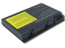 6 Cell A32-C90 Battery for Asus C90, C90a, C90p, C90s This brand new Asus replacement laptop battery features lithium-ion cells. Li-ion battery technology provides longer run times with less weight. In addition, Li-ion batteries are not subject to the memory effect common with older battery technology. This laptop battery replacement is 100% compatible with the original battery specifications and is individually tested and backed by a 2 Year warranty. Brand: Voltage: Battery Capacity: Battery Type: Cell Origin: Color: Assembly Origin: Warranty: Guarantee: Useful Life: Asus replacement computer battery 11.1 Volts - also compatible with 10.8 4400 mAh 6 Cell Li-ion Samsung (South Korea) Black Assembled in China 2 Year Warranty 30 day full satisfaction guarantee 300-500 recharge cycles You can expect about 2 - 3 hours of run time with this computer battery when new, depending on your energy use. Like all Li-ion primary batteries, your run time will decline over time. This battery replaces