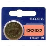 CR2032 Coin Cell Lithium Battery by Sony