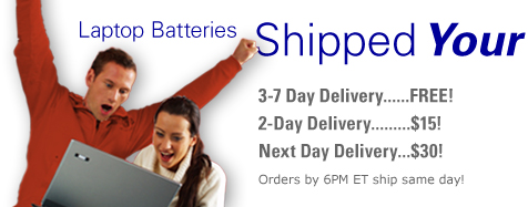 Laptop Batteries Shipping Your Way